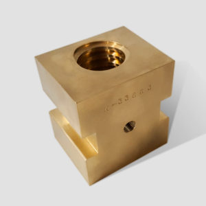 N-33863 Bronze Drive Block w/ Acme Thread | Triple E, LLC.
