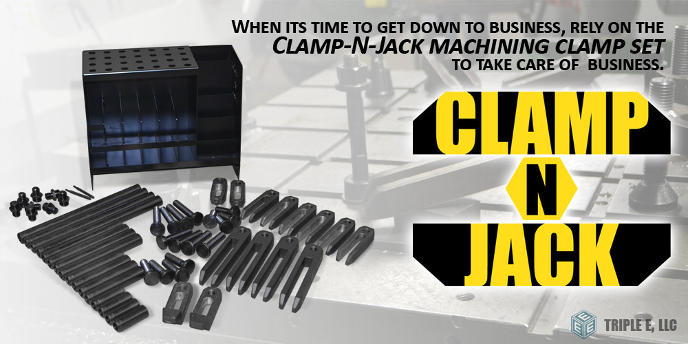 Industrial Machine Clamp Set | Triple E LLC
